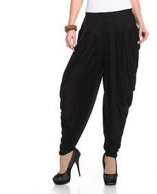 kyathat harem pants for women black (free size)