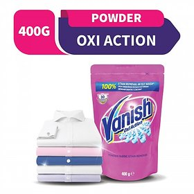 Vanish Oxy Action Stain Remover Powder, 400 g (Pack of 4)