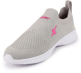 Sparx Womens Grey Pink Sports Walking Shoes Sl 154