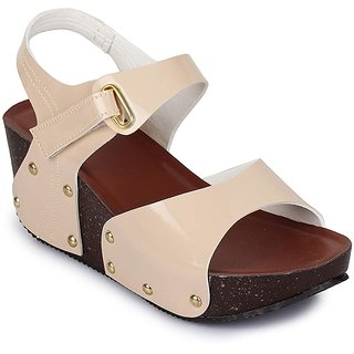 Walkfree Women Partywear Wedges, Ideal for Women