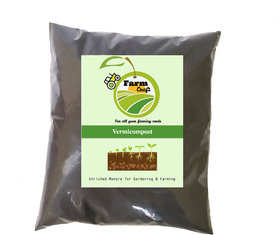 Organic Potting Soil Mix with Cocopeat, Vermicompost, Neem Granule, Plant Manure 5kg