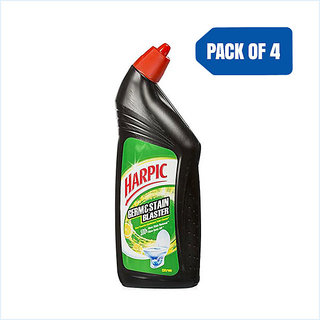 Harpic Germ and Stain Blaster (Citrus), 750 ml Pack of 4