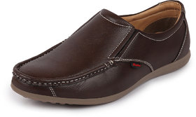 Bata Mens Brown Casual Slip On Shoes