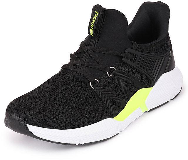 Buy Bata Power Men Black Sports Running