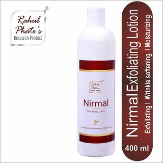 Rahul Pahte Nirmal Exfoliating Lotion 400 ml