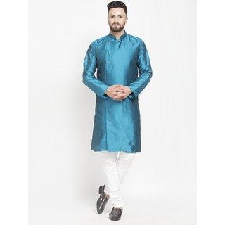 Benstoke mens Green designer kurta with pajama