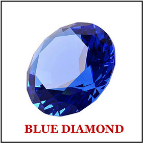 R.K Gems/Extra Fine Round-Blue Diamond