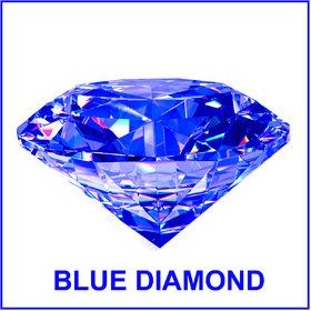 R.K Gems/Original BLUE Diamond Gemstone (Zircon)