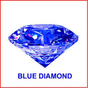R.K Gems/ Blue 6.20-Carat Crystal American Blue Diamond