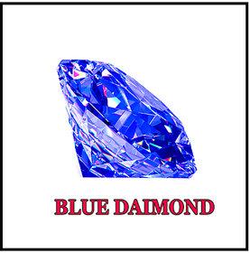 R.K Gems/ Blue 6.10-Carat Crystal American Blue Diamond