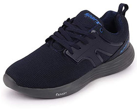 Sparx Men's Navy Blue/Royal Blue Lace Up Running Shoes