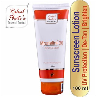 Rahul Phate Mrunalini-30 Sunscreen Lotion 100 ml