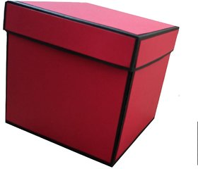 KD Creates 2 Layered Explosion Box (Red and Black) for All Occasions