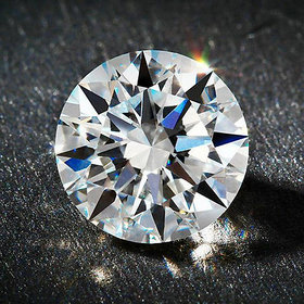 R.K Gems/ 6.20 Carat Original White Diamond Gemstone