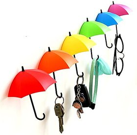 Djuize Umbrella Key Wall self adhesive Multipurpose Holder Hanger Hooks