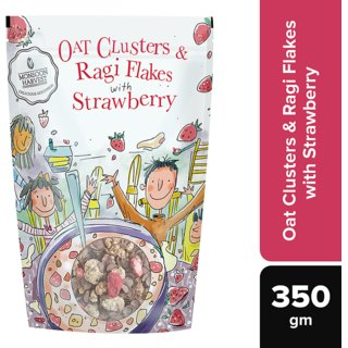 Oat Clusters  Ragi Flakes with Strawberry