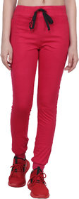 Shellocks Solid Cotton Hosiery Rani Track Pants for Women with Bottom Rib