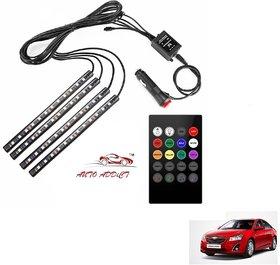 Auto Addict Car Atmosphere Lights interior 48 LED Music Control Remote  For Chevrolet Cruze