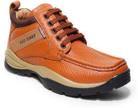 RED CHIEF Men Tan Synthetic Leather Formal Shoes