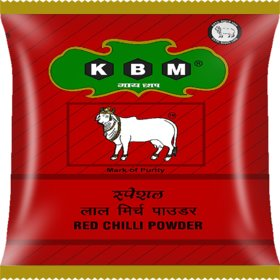 KBM Gai Chaap Red Chilli/Mirchi - Spice Powder (Masala) (1 kg)