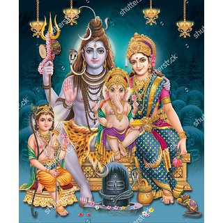 Style UR Home - Lord Shiva - 24  X 18
