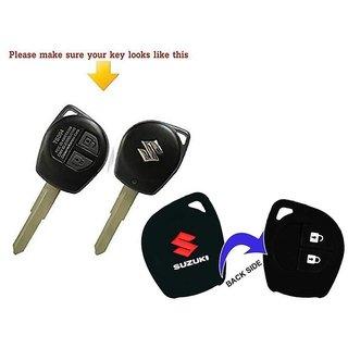Silicone Key Cover for Maruti Suzuki Swift,Ritz,Dzire,Ertiga,Sx4,Astar,Wagonr,Celerio,Brezza,Ignis,Celerio,Spresso