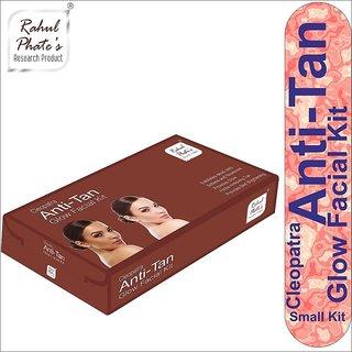 Rahul Phate Cleopatra Anti-Tan Glow Facial Kit Small 50 g