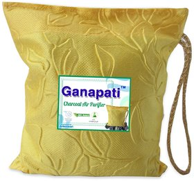 Ganapati Charcoal Air Purifier for Room, Car / Freshener, Deodorizer, Odour Absorber (250 Gm)