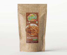 Pressia Fresh Fried Onion Flakes 100 Gram Pack