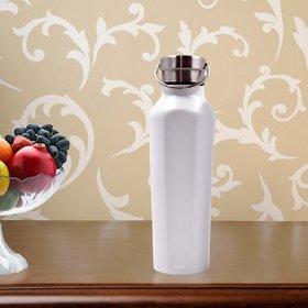 Stainlesss Steel Plain Design Vacuum Water Bottle - 500ml (106-E)