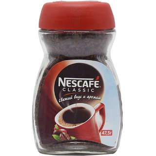 Nescafe Classic Granulated Instant Coffee - 47.5 g
