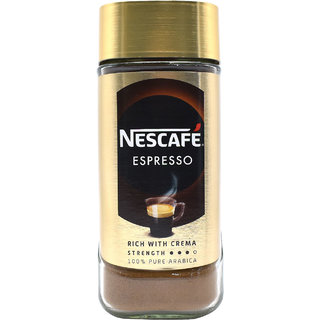 Nescafe Espresso Rich With Cream Coffee Strength 3 - 100g