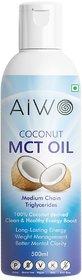 Aiwo MCT OIL (Medium Chain Triglycerides)500 ml
