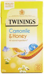 Twinings Camomile & Honey, 20 Tea Bags - 30g (20x1.5g)