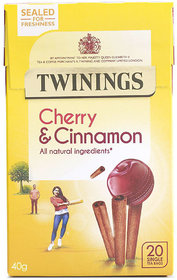 Twinings Cherry & Cinnamon, 20 Tea Bags - 40g (20x2g)