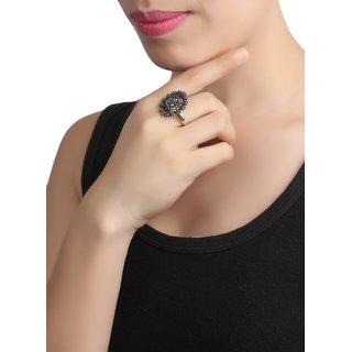 Cippele Jai Ganpati Ring For Girls  Women's