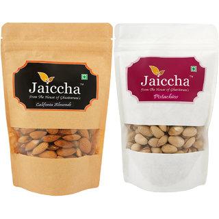 Jaiccha Almonds and Pistachios Pouches-200 gms