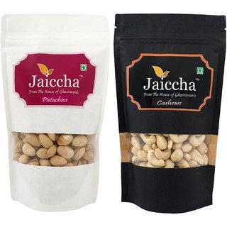 Jaiccha Cashews and Pistachios Pouches -200 gms