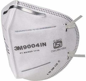 3M Pack Of 1 9004IN Anti pollution White Respirator Mask