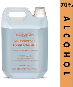 BIOAYURVEDA Multipurpose Liquid Sanitizer 5000 ml