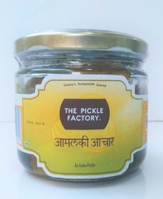 The Pickle Factory's Homemade Natural Sour  Spicy AAMALKI AACHAR (325g)