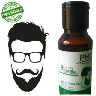 Herbal Wheat Germ Beard Nourishing Oil - 60ml