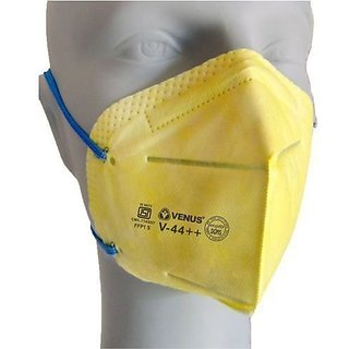 ISI Verified Venus V-44++ Anti-pollution Virus safe Face Mask(Pack of 3)