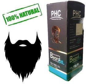 Herbal Beard Nourishing Oil - Tea Tree Flavor - 60ml Bigger Pack