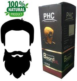 Natural  Herbal Beard  Moustache Oil - 60mL - Cetrus Flavor - Big Pack