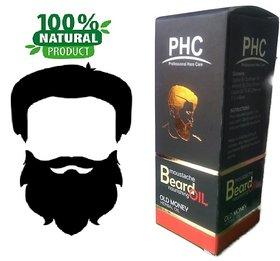 Natural  Herbal Beard  Moustache Oil - 60mL - Old Money Flavor - Big Pack