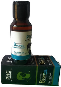 Beard Nourishing Oil enriched with Tea Tree Oil - 60mL Bigger Pack