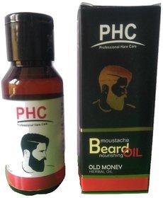 Old Money Moustache  Beard Herbal Oil - 60mL Big Pack