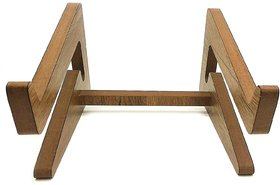 VAH U Detachable Laptop Vertical Holder Wooden Laptop Stand for Macbook Air or Pro and Hp Dell Acer Toshiba Lenovo Sony