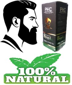 2pc. Beard Growth Oil  enriched with Wheat Germ (60mL X 2) Bigger Pack